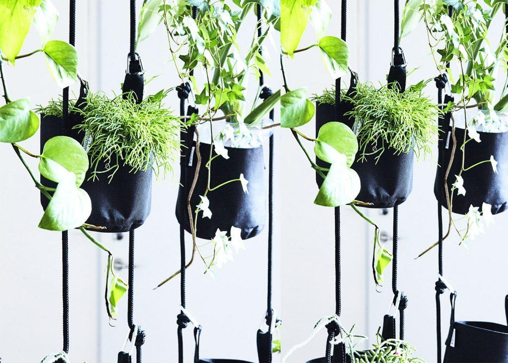 jardinières à suspendre